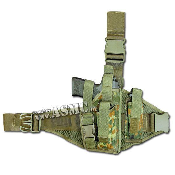 Taktikholster P8 Type IV flecktarn rechts