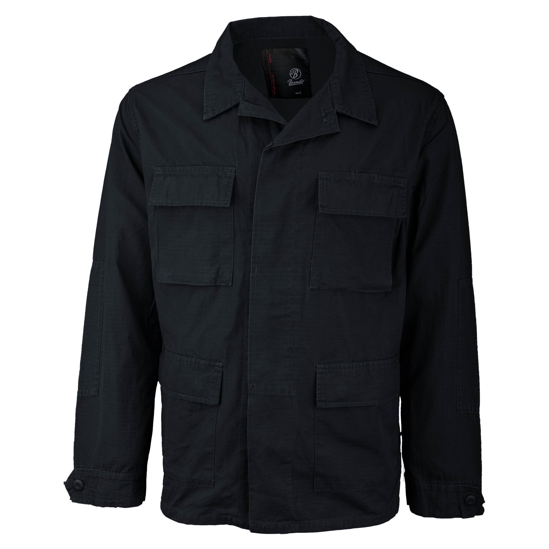 Brandit Jacke BDU Ripstop Jacket schwarz