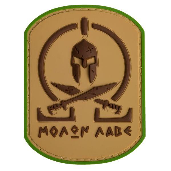 TAP 3D Patch Molon Labe Spartan multicam