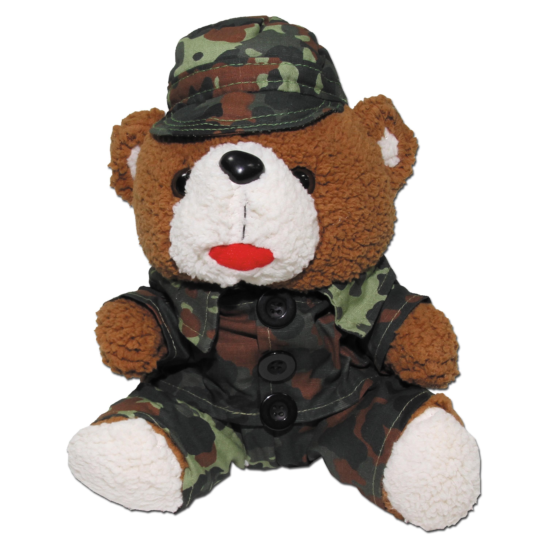 Teddybär MFH flecktarn gross