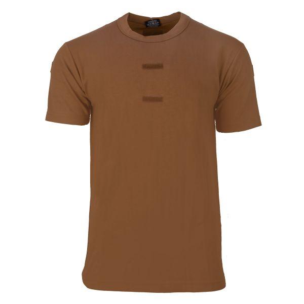BW Tropen T-Shirt mit Hoheitsabzeichen coyote