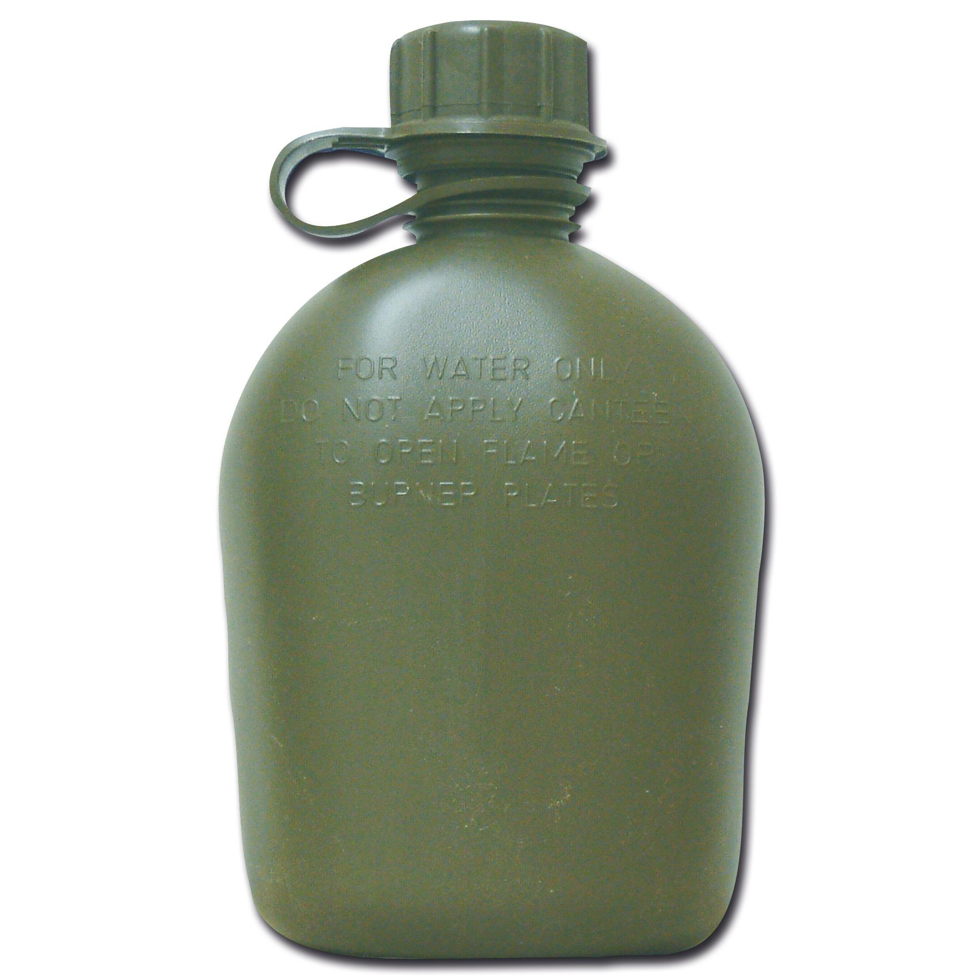 US Feldflasche 1 qt oliv