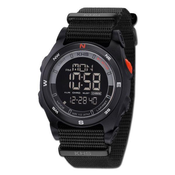 Uhr KHS Sentinel DC Nato schwarz