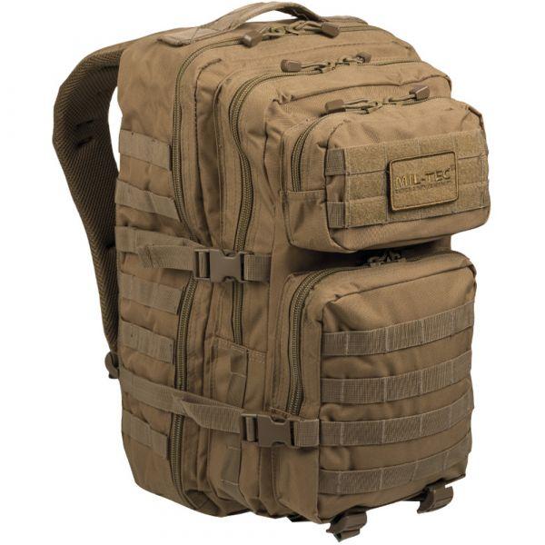 Mil-Tec Rucksack US Assault Pack II coyote