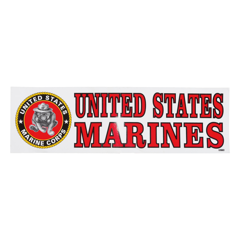 Bumper Sticker United States Marines