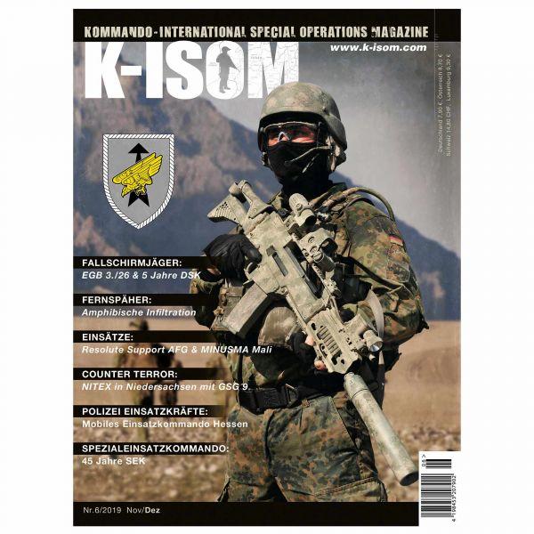 Kommando Magazin K-ISOM Ausgabe 06-2019