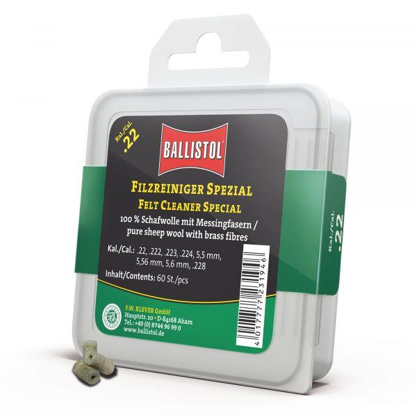 Ballistol Reinigungspfropfen Filz Spezial Kal. .22 60 Stück