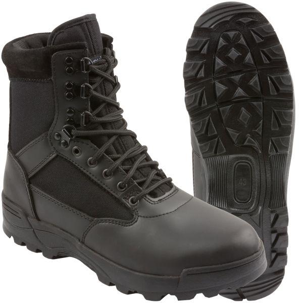 Brandit Boots Tactical Zipper schwarz