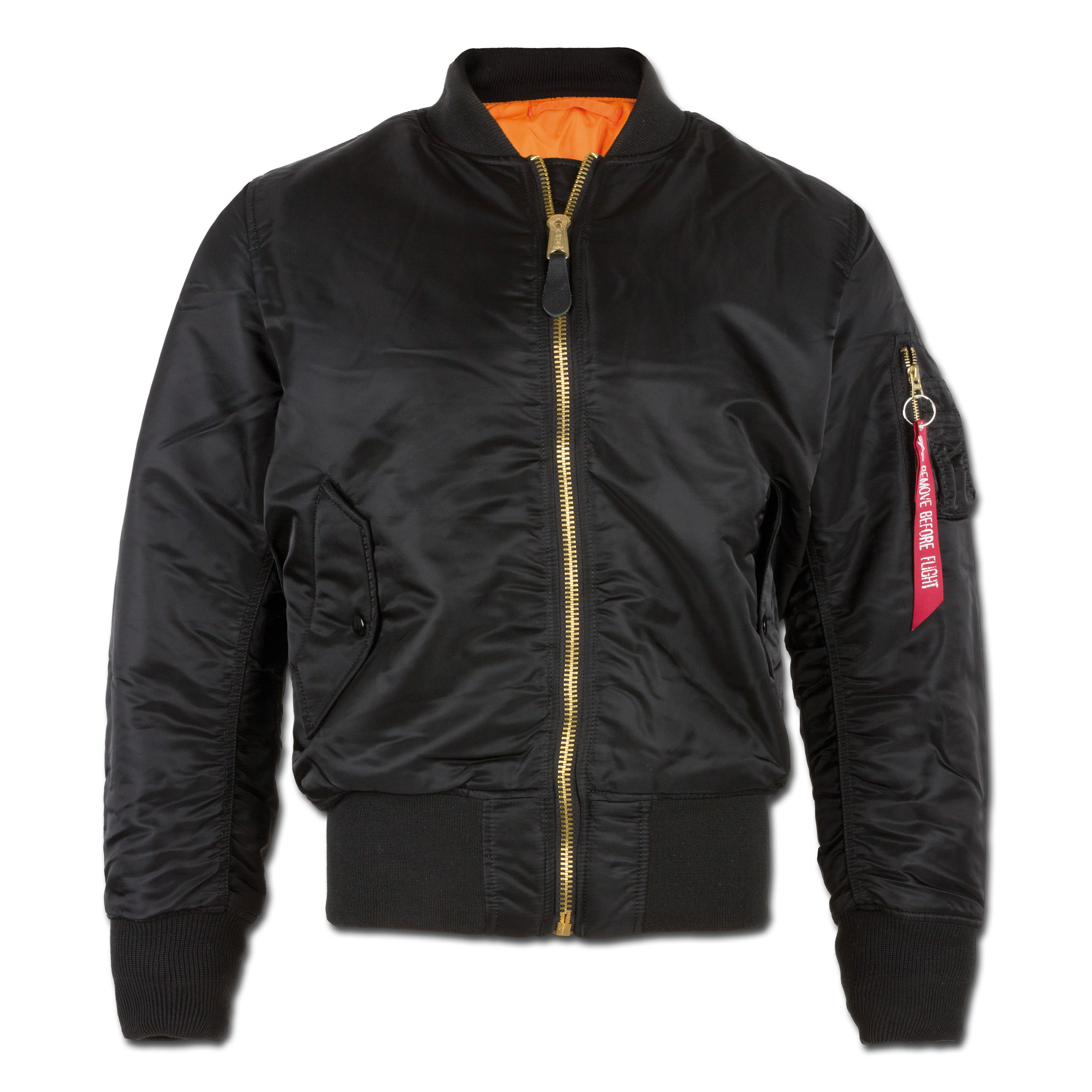 Alpha Industries Fliegerjacke MA-1 schwarz