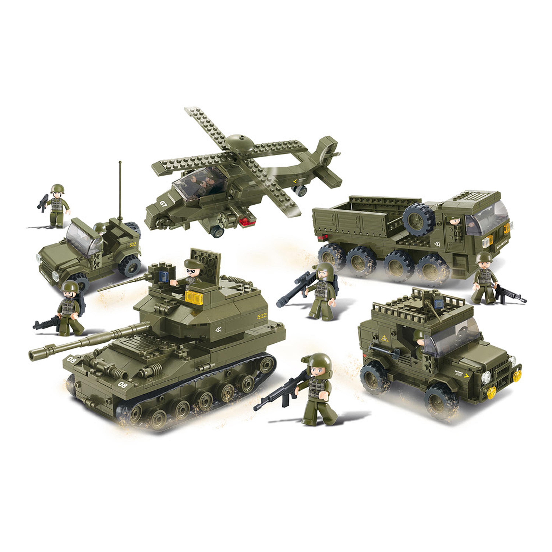 Sluban Armee Set M38-B0311