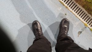 Boots on the job