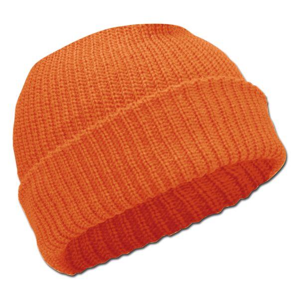 Rollmütze Acryl orange