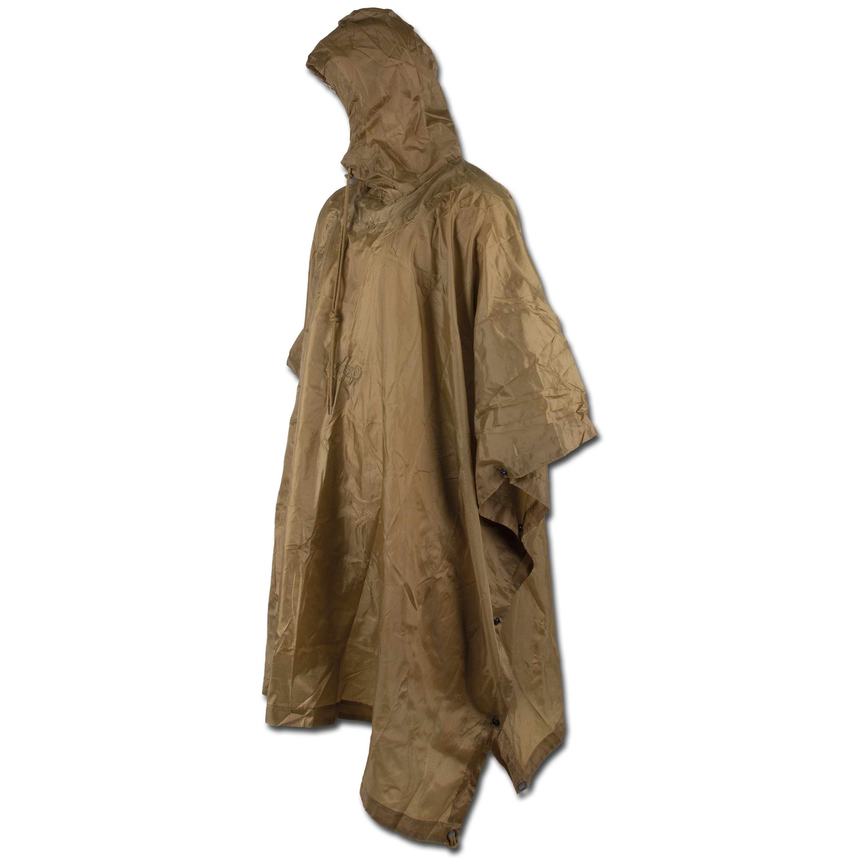 US Poncho Ripstop coyote