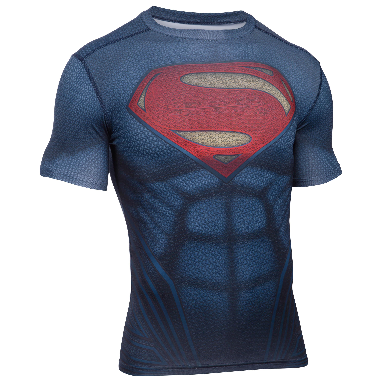 Under Armour Shirt Superman Suit