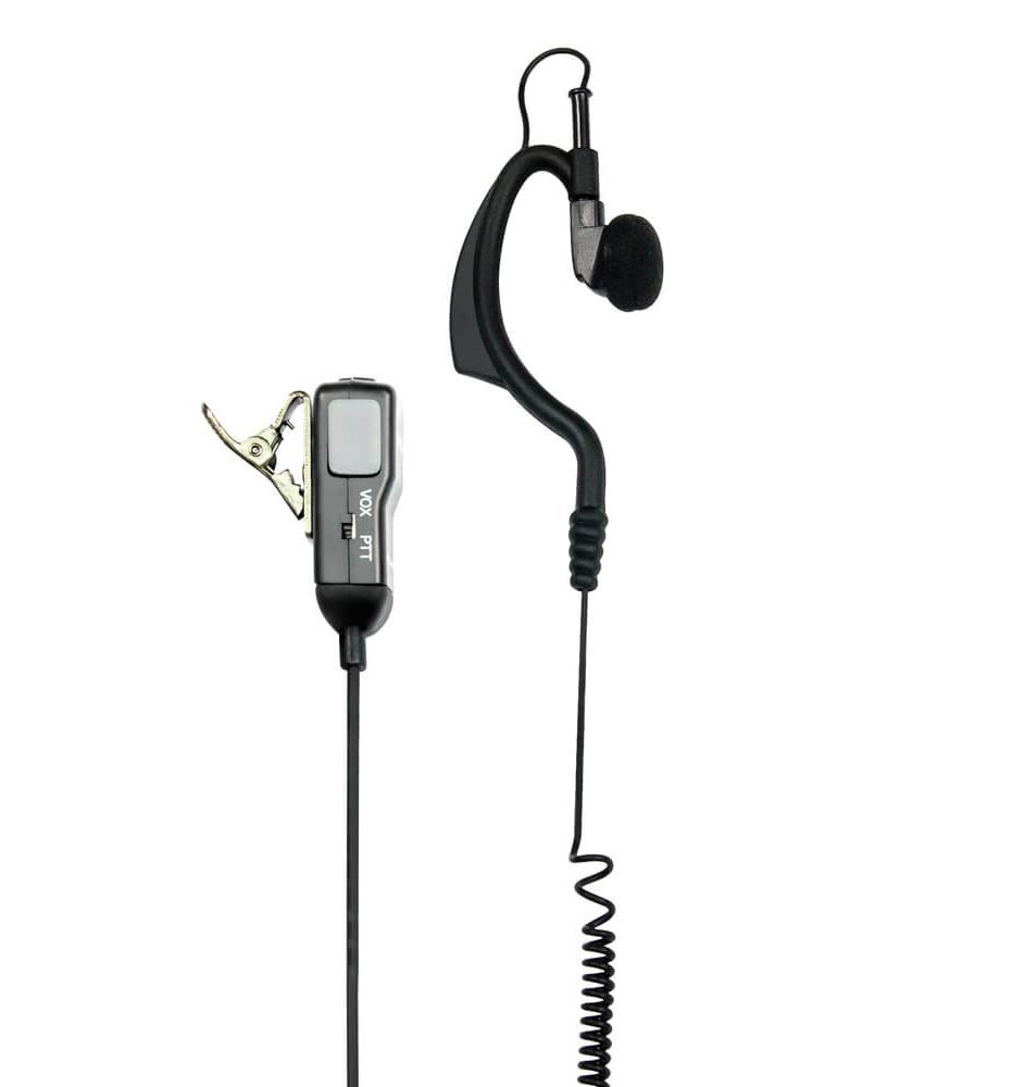 Midland Headset MA 21-L Clip Duoklinke 90 Grad Stecker L-Type