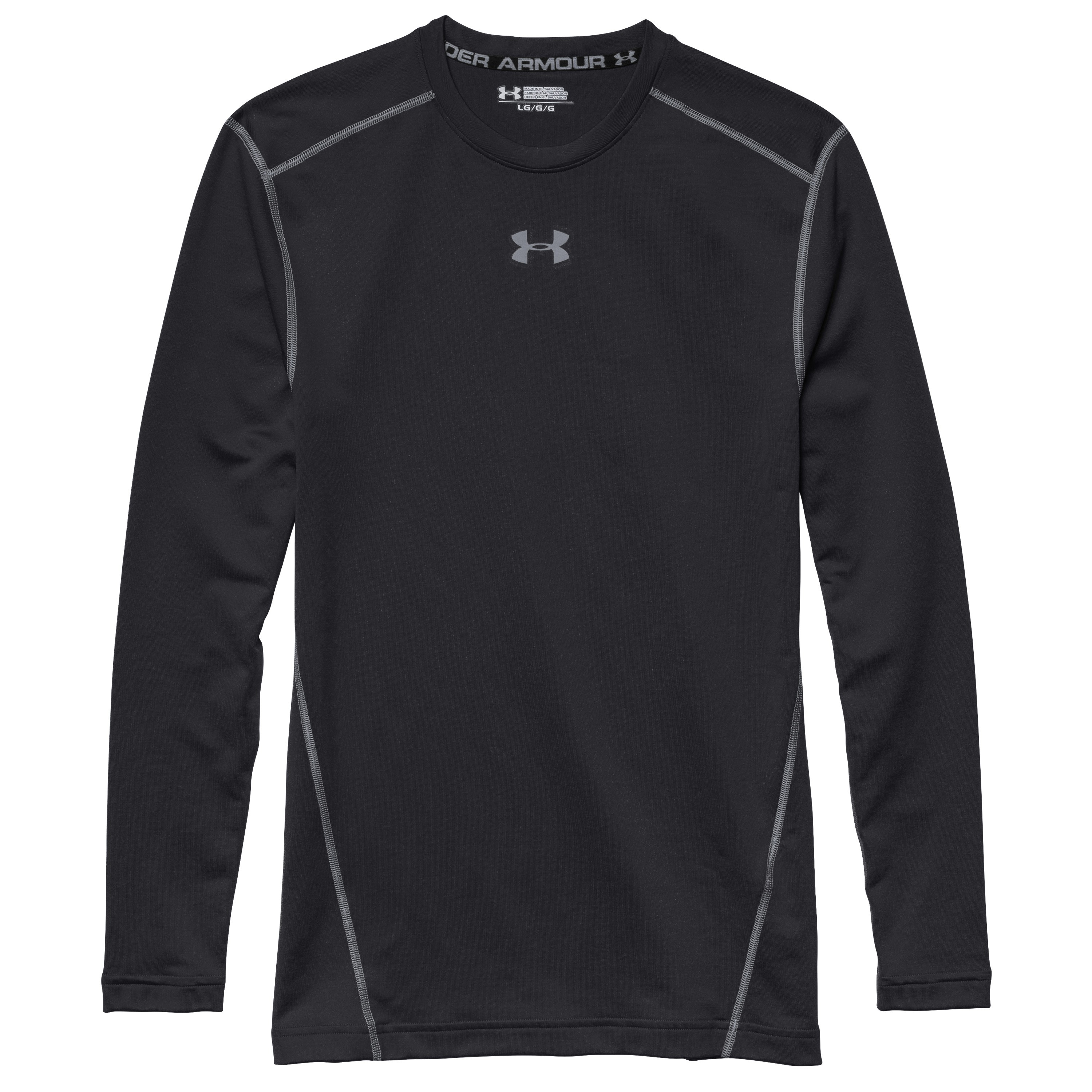 Under Armour Langarmshirt CG ARMOUR Crew schwarz