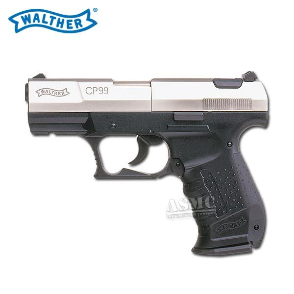 Pistole Walther CP 99 vernickelt