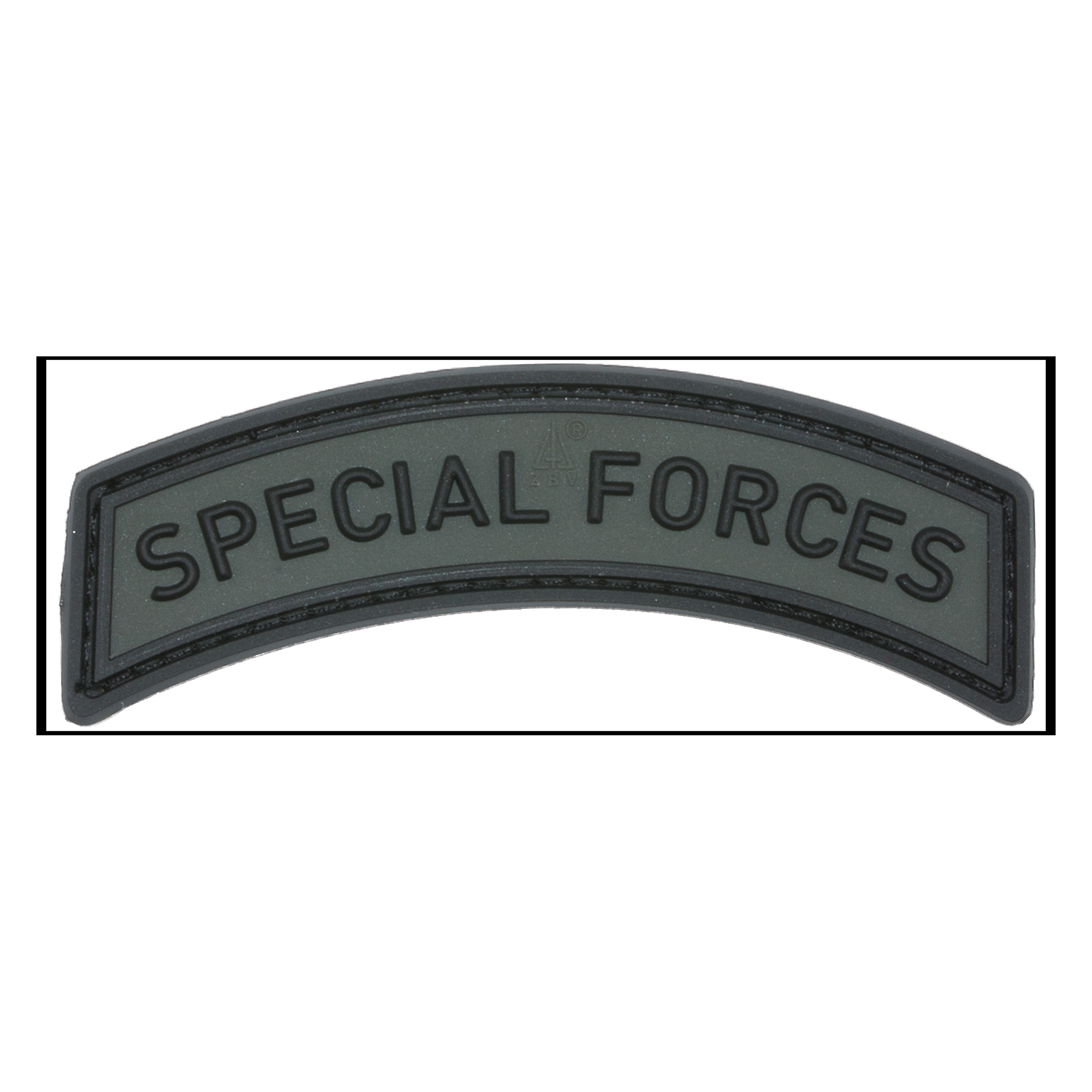 3D-Patch Special Forces Tab battlegrey