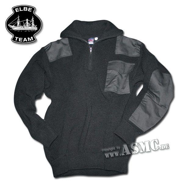 Pullover Troyer Kommando schwarz