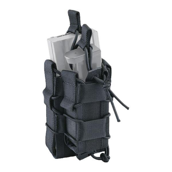 Defcon 5 Doppel-Magazintasche Shadow Laser Cut schwarz