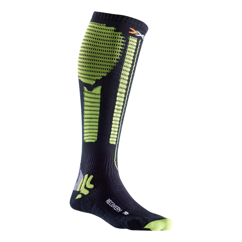 X-Socks Socken Precuperation schwarz gelb