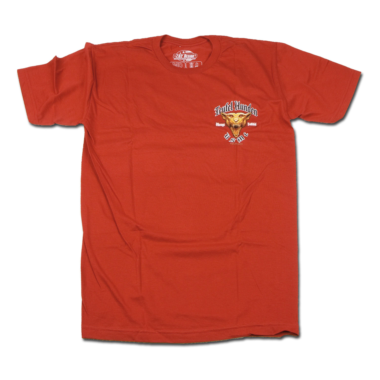 Titanen T-Shirt US Marines Devil Dog rot