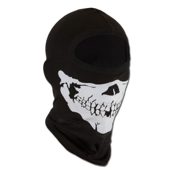 Balaclava 1-Loch Skull schwarz