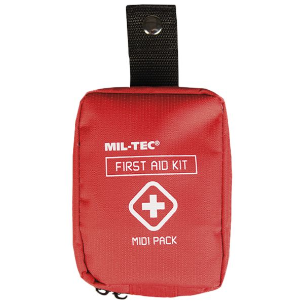 First Aid Pack Midi rot