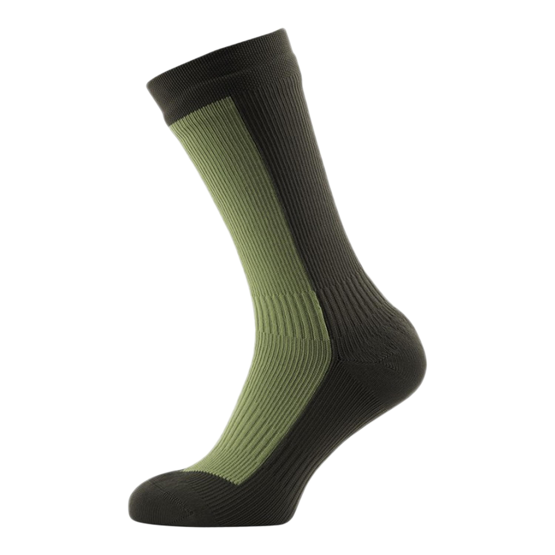 SealSkinz Socken Hiking Mid oliv