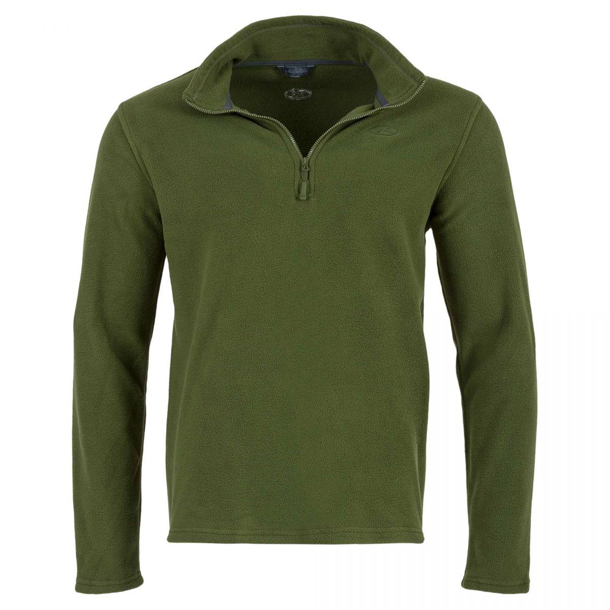 Fleece Pullover Oliv