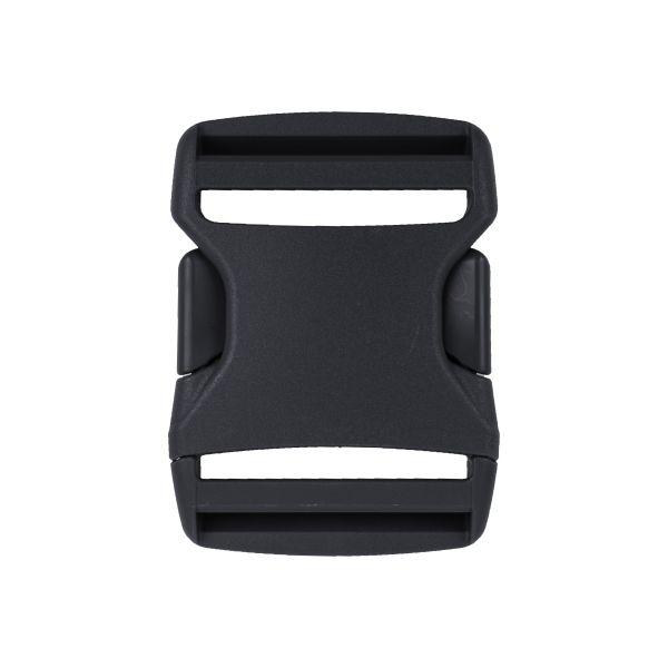 TT Steckschnalle 50 mm schwarz