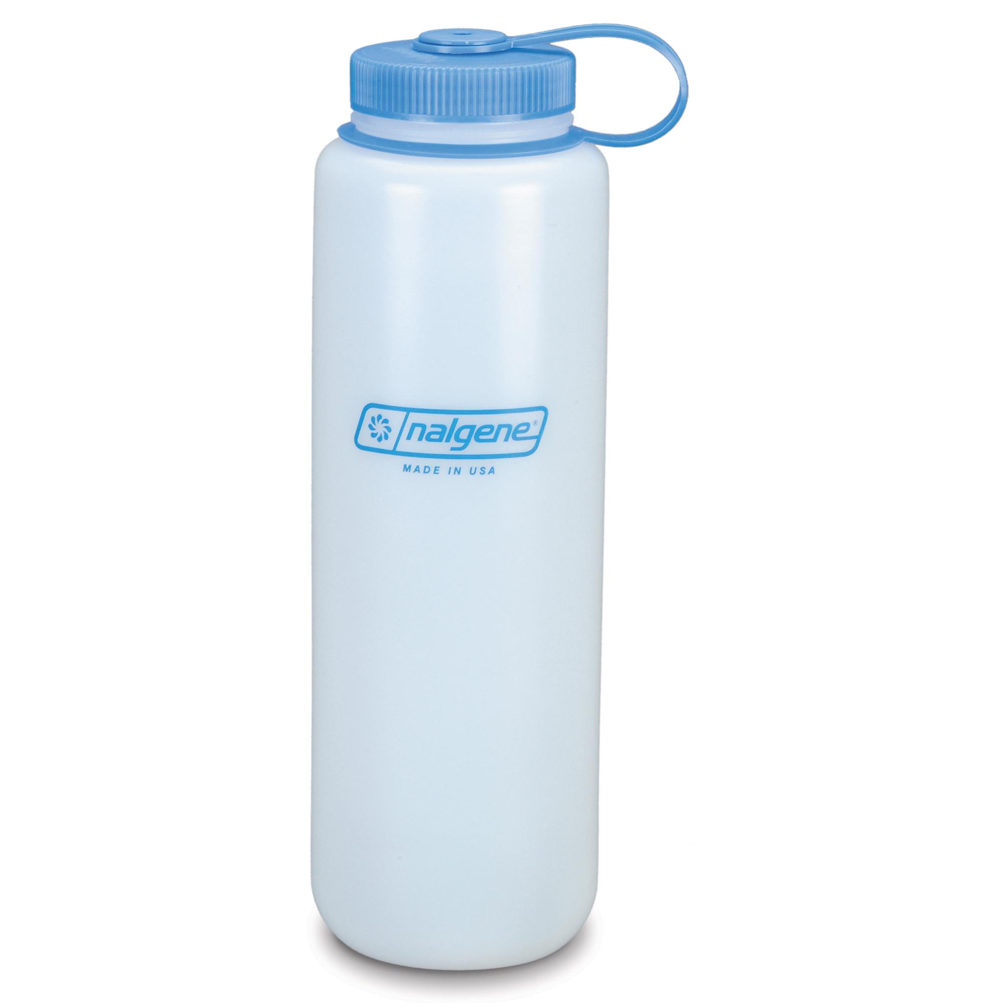 Nalgene Trinkflasche Weithals HDPE 1.5 L weiß