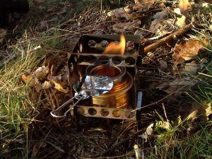 Buschbox mit Esbit Spiritbrenner