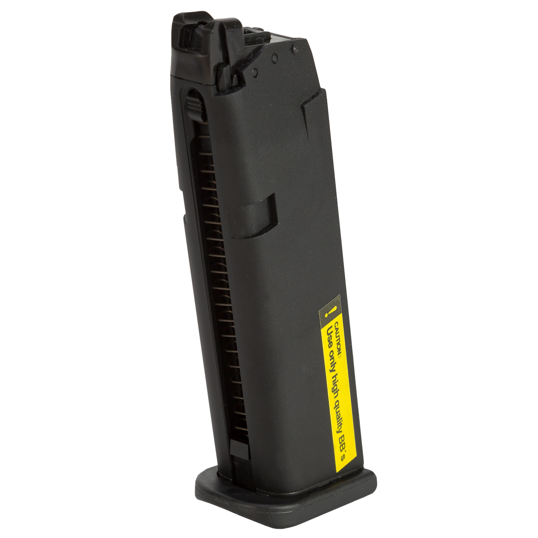 VFC Ersatzmagazin Airsoft Glock 17 Gen.5 GBB schwarz