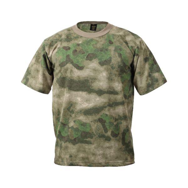 Rothco T-Shirt kurzarm A-Tacs FG