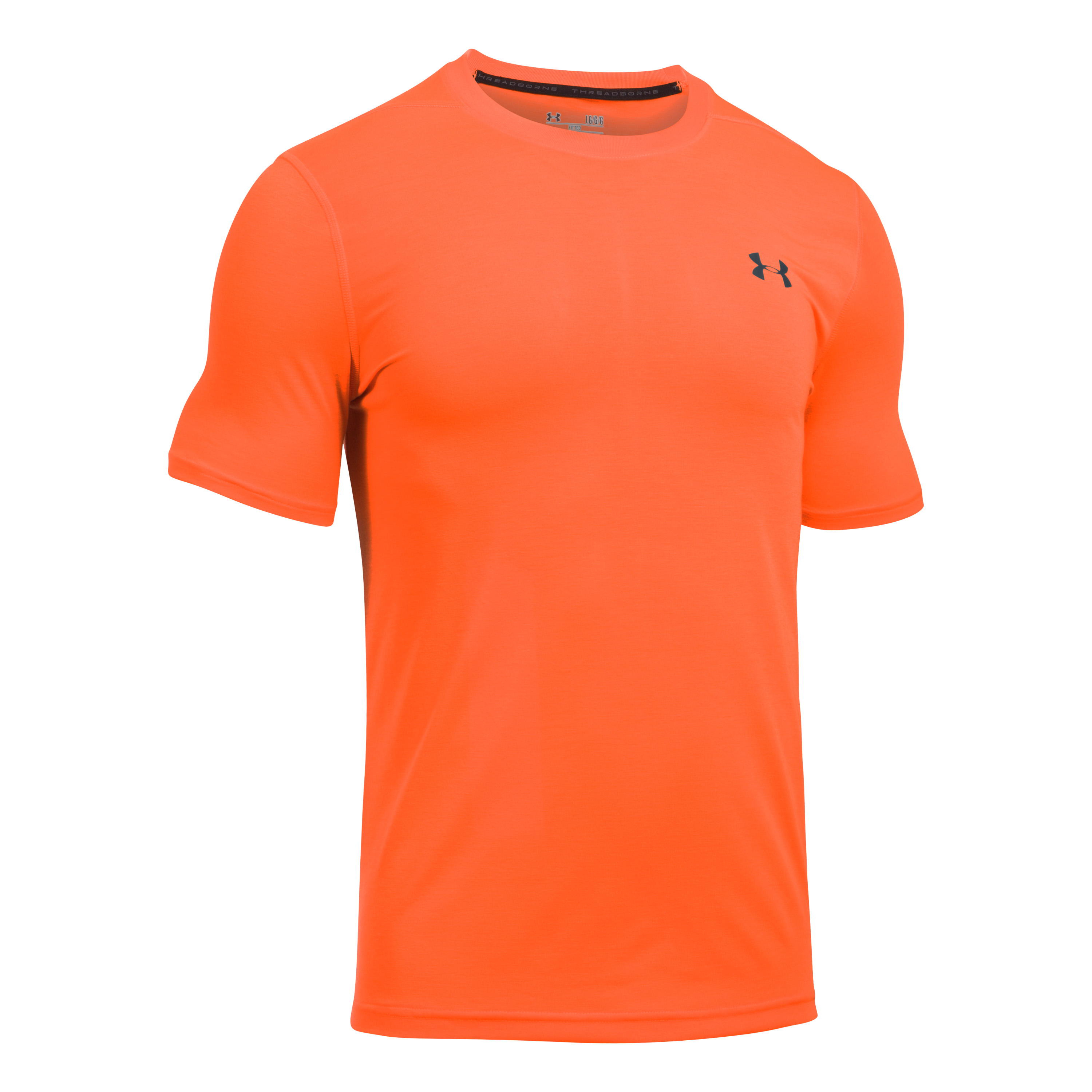 Under Armour Fitness Shirt Threadborne Fitted rot