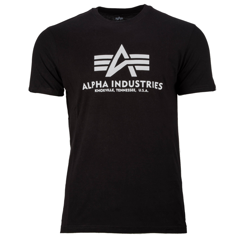 T-Shirt Alpha Industries Basic schwarz