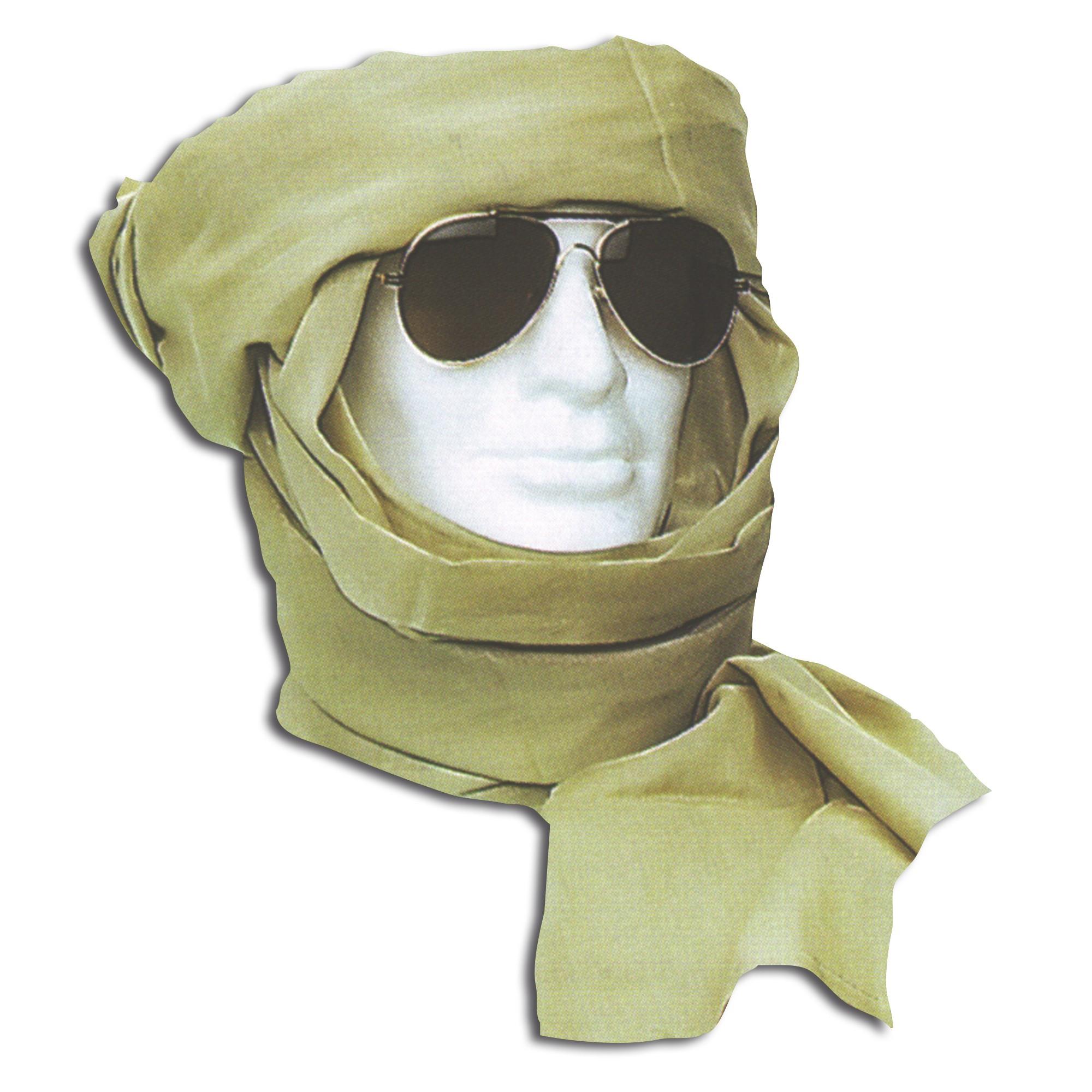 Turban khaki