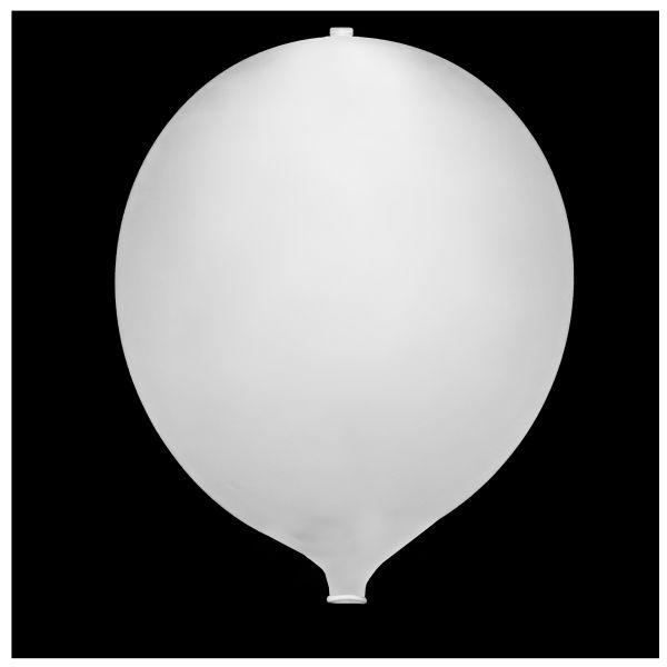 KNIXS Tac Ballon weiß Blinkende LED weiß