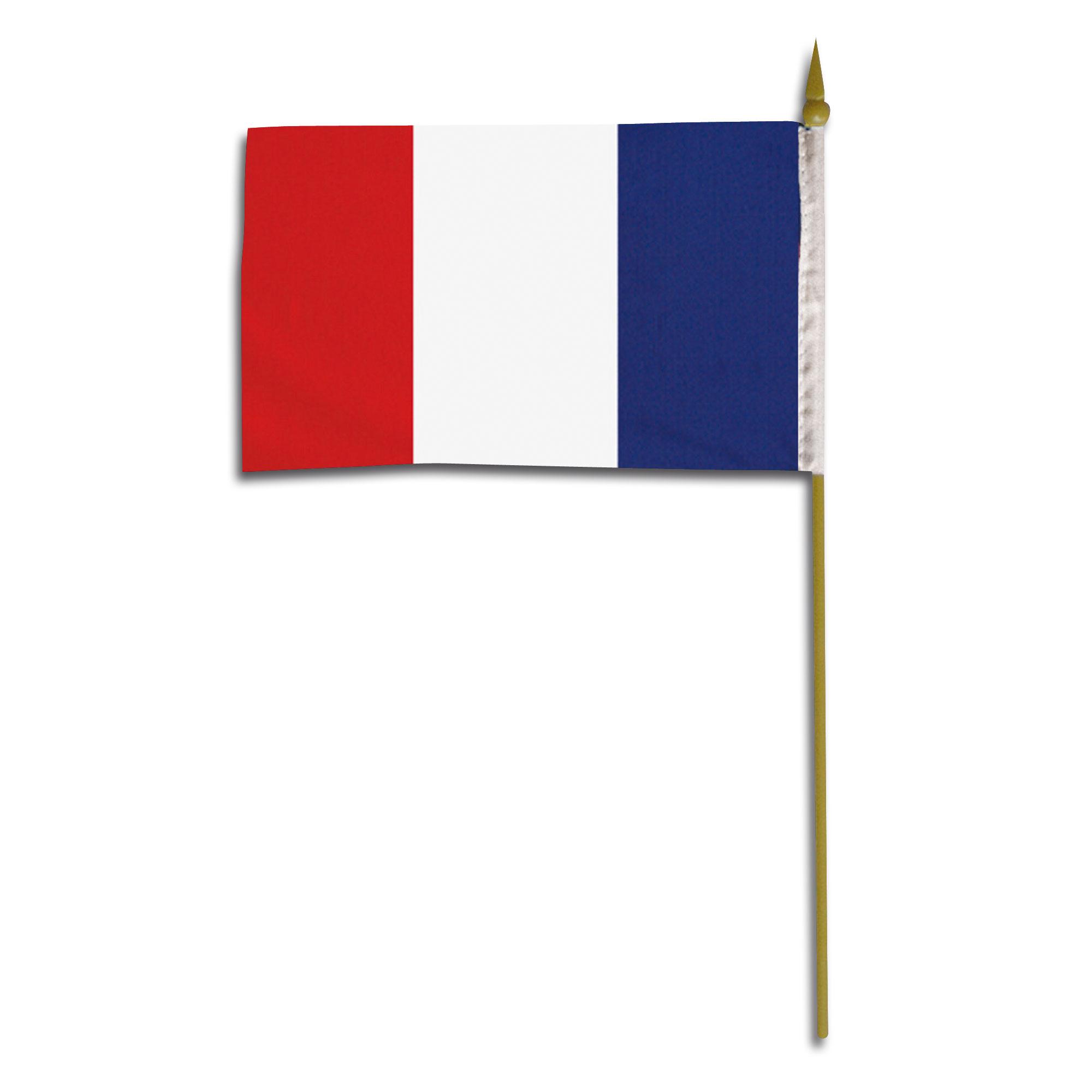 Handflagge 45x30 Frankreich