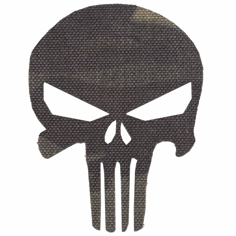 LaserPatch Laser Cut IR Patch Punisher multicam black