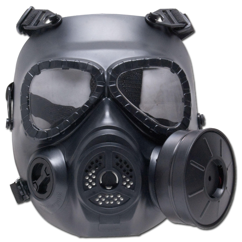 Deko-Gasmaske GSG M04 schwarz