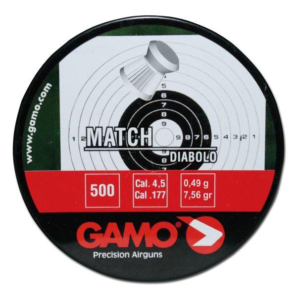 Gamo Diabolos Match geriffelt 4.5 mm 500 St.