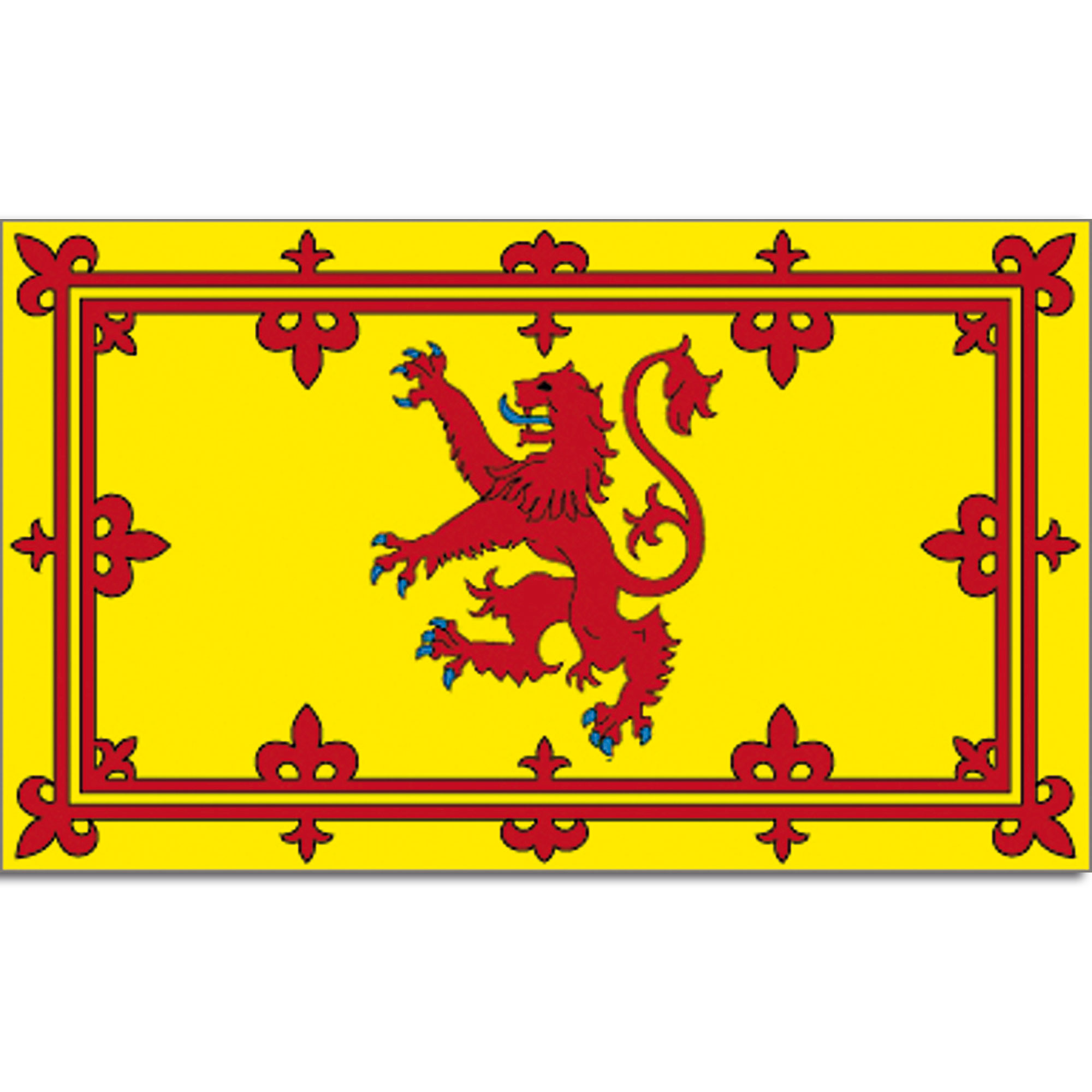 Flagge Schottland Lion-Rampant