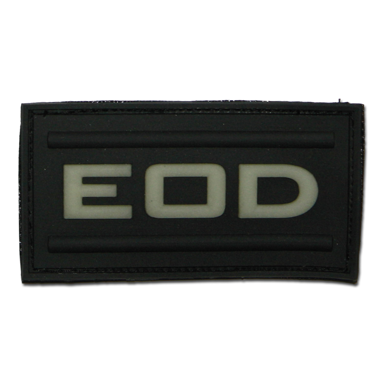 3D-Patch EOD schwarz nachleuchtend