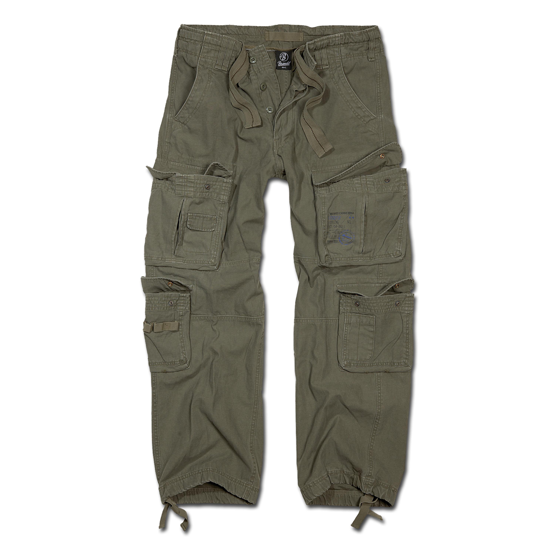 Hose Brandit Pure Vintage Trousers oliv