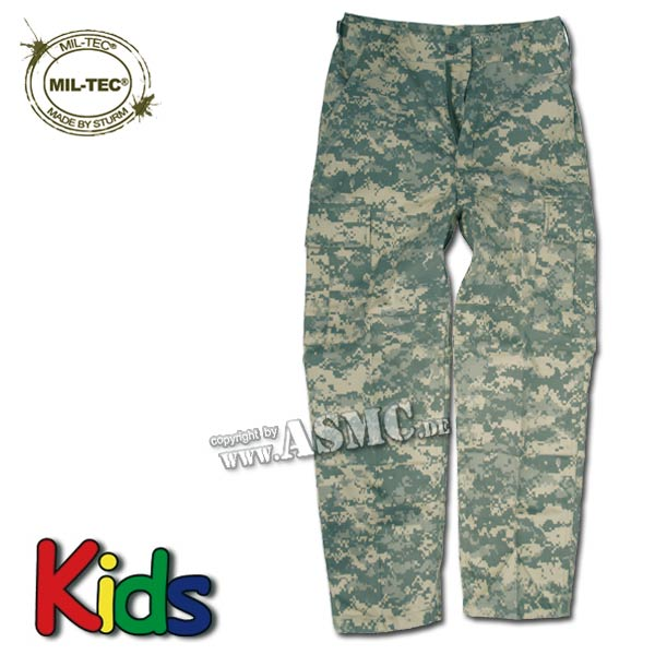 Kinder BDU Hose AT-digital