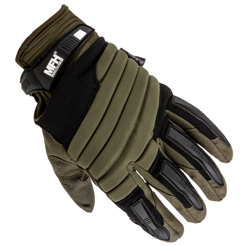 MFH Defence Handschuh Operation oliv/schwarz