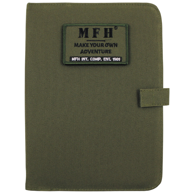 MFH Terminplaner Ringbuch A5 oliv