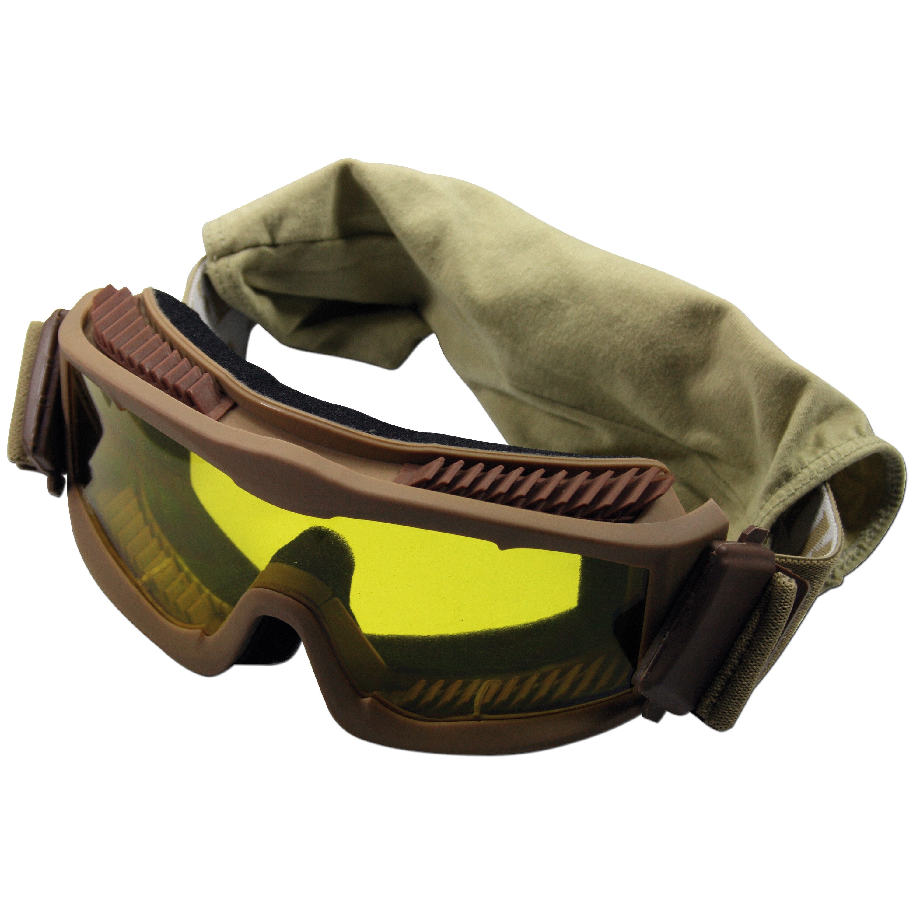 Schutzbrille Thunder deluxe MFH coyote